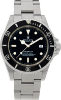 Timepieces:Wristwatch, No Shipping into the U.S. - Rolex Ref. 16600 Oyster Perpetual Sea-Dweller, circa 1997. ...