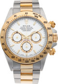 Timepieces:Wristwatch, No Shipping into the U.S. - Rolex Ref. 16523 Two Tone Oyster Perpetual Cosmograph Daytona, circa 1997. ...