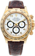 Timepieces:Wristwatch, No Shipping into the U.S. - Rolex Ref. 16518 Gold Oyster Perpetual Cosmograph Daytona, circa 1991. ...