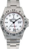 Timepieces:Wristwatch, No Shipping into the U.S. - Rolex Ref. 16570 Steel Explorer II, circa 1999. ...