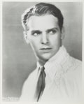 Autographs:Celebrities, Douglas Fairbanks, Jr. Signed and Inscribed Photograph. Measures 8x 10 inches. Restrike photo and with Fairbanks' stamped a...