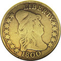 Early Eagles, 1800 $10 --Damaged--ANACS. VG8 Details....