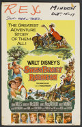 "Movie Posters:Adventure, Swiss Family Robinson (Buena Vista, 1960). Window Card (14"" X 22"").Adventure. ..."