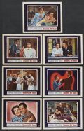 """Movie Posters:Romance, Goodbye, My Fancy (Warner Brothers, 1951). Lobby Cards (7) (11"""" X 14""""). Romance. ... (Total: 7 Items)"""