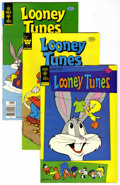 Bronze Age (1970-1979):Cartoon Character, Looney Tunes Group (Gold Key, 1975-81) Condition: Average NM....(Total: 8 Comic Books)