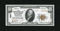 National Bank Notes:Pennsylvania, Reading, PA - $10 1929 Ty. 2 The Reading NB & TC Ch. # 4887....