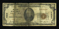 National Bank Notes:Oklahoma, Pawhuska, OK - $20 1929 Ty. 1 The Citizens NB Ch. # 7883. ...
