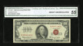 Small Size:Legal Tender Notes, Fr. 1550 $100 1966 Legal Tender Note. CGA About Uncirculated 55.. ...