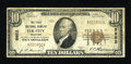 National Bank Notes:Oklahoma, Elk City, OK - $10 1929 Ty. 1 The First NB Ch. # 9952. ...