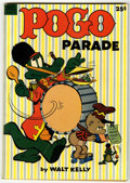 Golden Age (1938-1955):Funny Animal, Dell Giant Comics - Pogo Parade #1 (Dell, 1953) Condition:VG/FN....