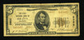 National Bank Notes:Oklahoma, Elk City, OK - $5 1929 Ty. 2 The First NB Ch. # 9952. ...