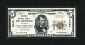 National Bank Notes:West Virginia, New Martinsville, WV - $5 1929 Ty. 1 The First NB Ch. # 5266. ...