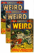 Golden Age (1938-1955):Horror, Ghostly Weird Stories #120 and 124 Group (Star, 1953-54)....(Total: 3 Comic Books)