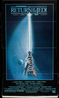 "Movie Posters:Science Fiction, Return of the Jedi (20th Century Fox, 1983). Standee (34"" X 56.5"")Style A. Science Fiction.. ..."