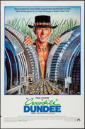 "Movie Posters:Adventure, Crocodile Dundee and Other Lot (Paramount, 1986). One Sheets (2)(27"" X 40"" and 27"" X 41"") DS. Adventure.. ... (Total: 2 Items)"