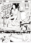 Original Comic Art:Covers, Daniel Clowes The Death Ray - Eightball #23 Cover Alternate Version Original Art (2003)....