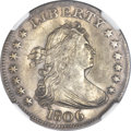 Early Quarters, 1806 25C MS62 NGC. B-9, R.1....