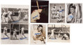 Baseball Collectibles:Photos, Stan Musial Signed Photographs Lot of 36....