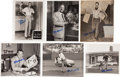 Baseball Collectibles:Photos, Stan Musial Signed Original Press Photographs Lot of 24....