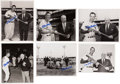 Baseball Collectibles:Photos, Stan Musial Signed Original Photographs Lot of 36....