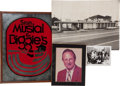 Baseball Collectibles:Others, 1950's Stan Musial & Biggies Restaurant Mirror & SignedPhoto. ...