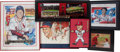 Baseball Collectibles:Others, Stan Musial Framed Memorabilia (with Autographs) Lot of 7....