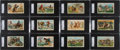 "Non-Sport Cards:Sets, 1888 N105 Duke & Sons ""Cowboy Scenes"" Complete Set (25) - #1 onthe SGC Set Registry. ..."