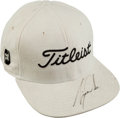 Autographs:Others, 2000's Tiger Woods Signed Golf Cap....