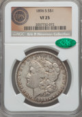Morgan Dollars, 1896-S $1 VF25 NGC. CAC....
