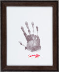 Autographs:Others, Circa 2000 Stan Musial Signed Hand Print....