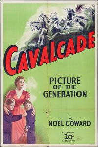 "Cavalcade (20th Century Fox, R-1930s). International One Sheet (27"" X 41""). Academy Award Winners"