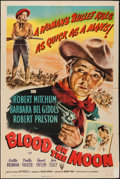 "Movie Posters:Western, Blood on the Moon (RKO, 1948). One Sheet (27"" X 41""). Western.. ..."