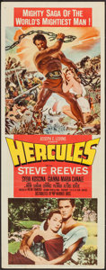 "Movie Posters:Action, Hercules (Warner Brothers, 1959). Insert (14"" X 36""). Action.. ..."