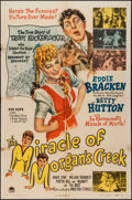 """Movie Posters:Comedy, The Miracle of Morgan's Creek (Paramount, 1944). One Sheet (27"""" X41""""). Comedy.. ..."""