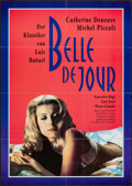 "Movie Posters:Foreign, Belle de Jour and Others Lot (Arsenal, R-1982). German A1 (23"" X 33""), Special Poster (14"" X 20.25""), and Magazine Page (10""... (Total: 3 Items)"