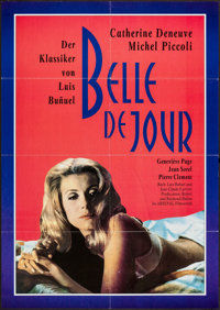 "Belle de Jour and Others Lot (Arsenal, R-1982). German A1 (23"" X 33""), Special Poster (14"" X 20.25"")..."
