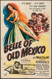 """Belle of Old Mexico (Republic, 1950). One Sheet (27"""" X 41""""). Musical"""