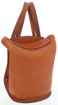 Luxury Accessories:Bags, Hermes Natural Barenia Sherpa Backpack Bag. ...