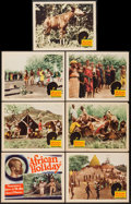 """Movie Posters:Documentary, African Holiday (Pearson Pictures, 1937). Title Lobby Card and Lobby Cards (6) (11"""" X 14""""). Documentary.. ... (Total: 7 Items)"""
