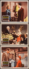 "Movie Posters:Academy Award Winners, All About Eve (20th Century Fox, 1950). Lobby Cards (3) (11"" X14""). Academy Award Winners.. ..."