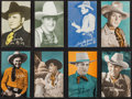"""Movie Posters:Western, Western Cowboy Arcade and Postcard Lot (Various, 1930s). Western. Arcade Cards (15) and Postcards (4) (3.5"""" X 5.5""""). ... (Total: 19 Items)"""