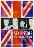 "Movie Posters:Rock and Roll, Sex Pistols: The Filth and the Fury (FilmFour, 2000). Italian 2 -Foglio (39.5"" X 55""). Rock and Roll.. ..."