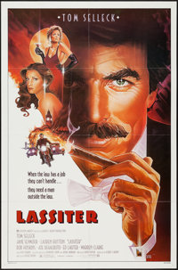 """Lassiter and Others Lot (Warner Brothers, 1984). One Sheets (8) (27"""" X 41""""). Crime. ... (Total: 8 Items)"""