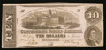Confederate Notes:1862 Issues, T52 $10 1862 PF-13 Cr. 577.. ...