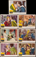 """Movie Posters:Swashbuckler, The Three Musketeers (MGM, 1948). Lobby Cards (7) (11"""" X 14""""). Swashbuckler.. ... (Total: 7 Items)"""