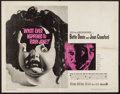 "Movie Posters:Horror, What Ever Happened to Baby Jane? (Warner Brothers, 1962). Half Sheet (22"" X 28""). Horror.. ..."