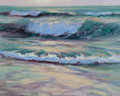 Paintings, FRANK CUPRIEN (American, 1871-1948). Blue Surf. Oil on artists' board. 8 x 10 inches (20.3 x 25.4 cm). Titled verso: B...