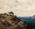 Paintings, ROBERT WILLIAM WOOD (American, 1889-1979). Carmel Seaside. Oil on canvas. 25 x 30 inches (63.5 x 76.2 cm). Signed lower ...
