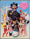 "Movie Posters:Comedy, Disneyland Circus Fantasy '88 (Walt Disney, 1988). Special Event Poster (18"" X 24""). Comedy.. ..."