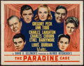 """Movie Posters:Hitchcock, The Paradine Case (Selznick, 1948). Half Sheet (22"""" X 28"""") Style A.Hitchcock.. ..."""